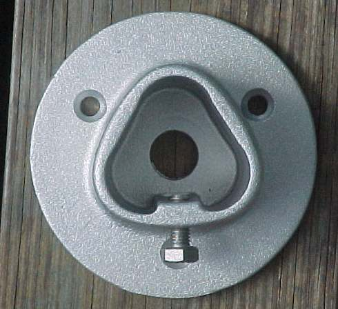 Deck Mount Flange For 1 5 Inch Pipe