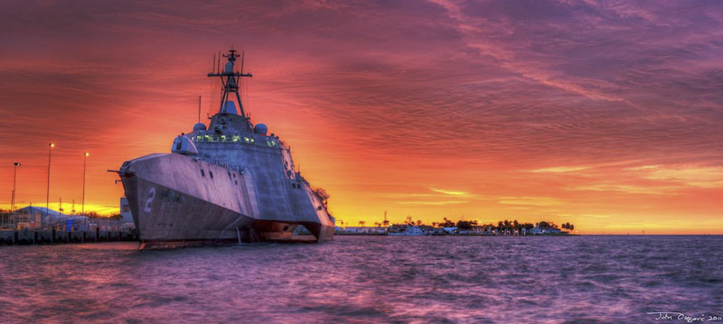 Littoral Combat Ship (LCS-2) USS Independence PR-422
